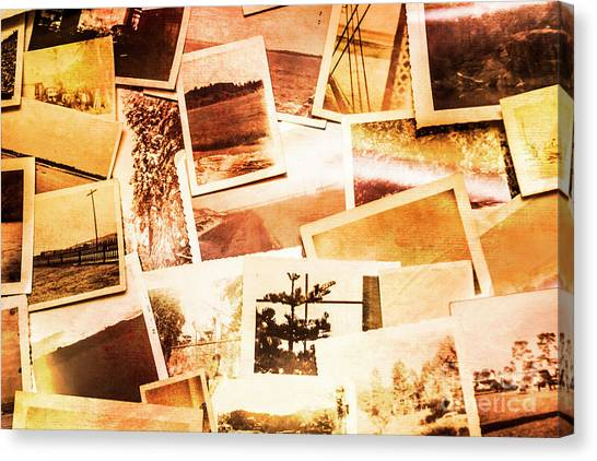 50s Canvas Print - Time Worn Scenes And Places Background by Jorgo Photography - Wall Art Gallery