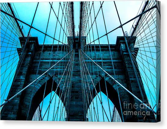Symmetrical Canvas Print - Timeless Arches by Az Jackson