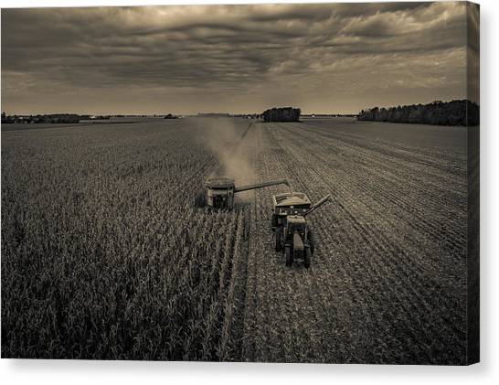 Timeless Farm Canvas Print