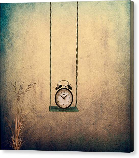Surreal Canvas Print - Timeless by Ian Barber