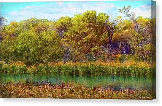 Timeless Pond Canvas Print
