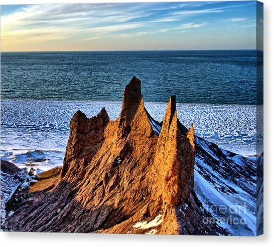 Timeless Spires Canvas Print