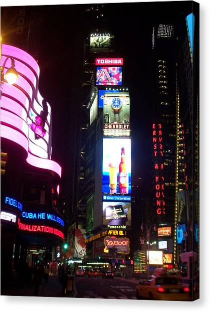 Times Square 1 Canvas Print