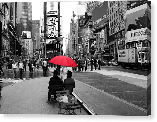 Times Square 5 Canvas Print