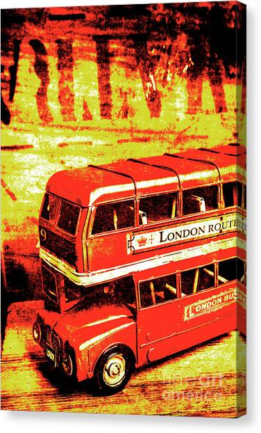Pixelated Canvas Print - Tin Sign Travels by Jorgo Photography - Wall Art Gallery