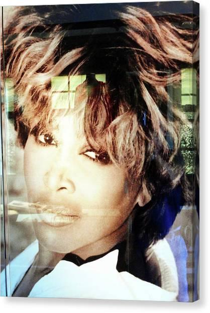 Tina Turner Museum 2 Canvas Print