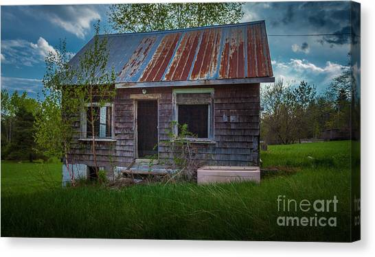 Tiny Farmhouse Canvas Print