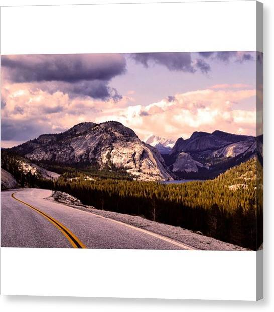 Star Trek Canvas Print - Tioga Pass, What An Amazing Road by Scotty Brown
