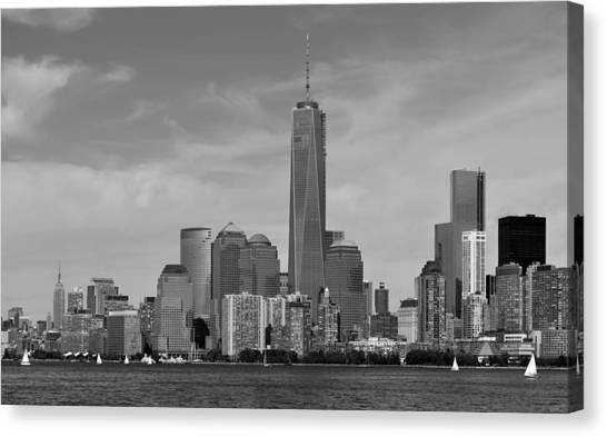 Tip Of Manhattan Canvas Print