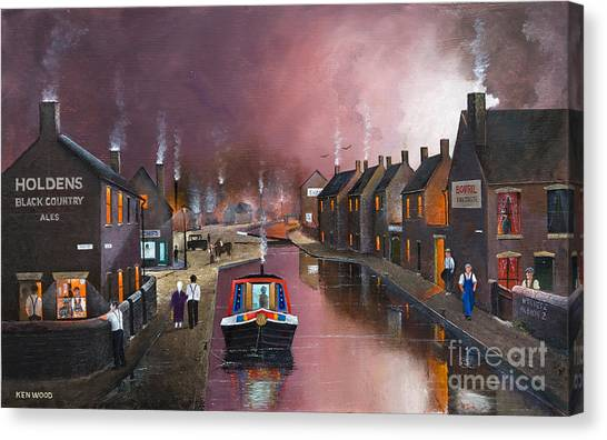 Tipton Green Branch Canvas Print
