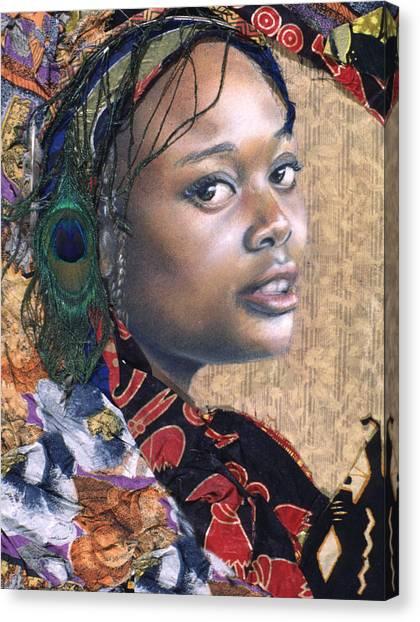 Tishauna 7.1 Canvas Print