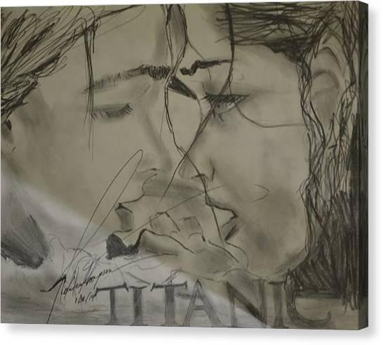 God Canvas Print - Titantic Beauty by Love Art Wonders By God