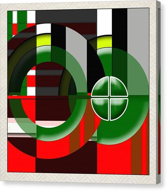 Bacon Canvas Print - Title: Mathematical Equations by Larry Bacon
