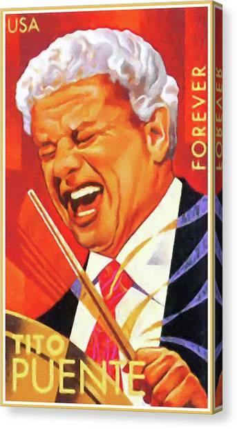 Tito Puente Canvas Print
