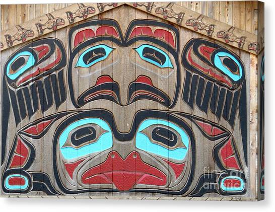 Tlingit Wall Panel Canvas Print