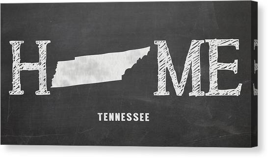 Middle Tennessee State University Canvas Print - Tn Home by Nancy Ingersoll