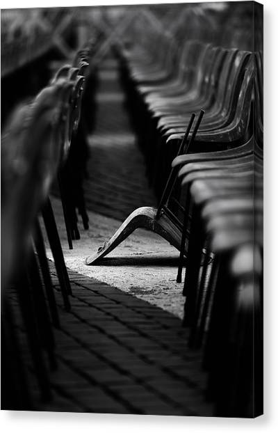 Chair Canvas Print - To Be Different by Fulvio Pellegrini