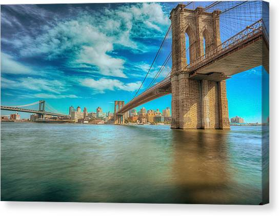 To Brooklyn And Back Canvas Print
