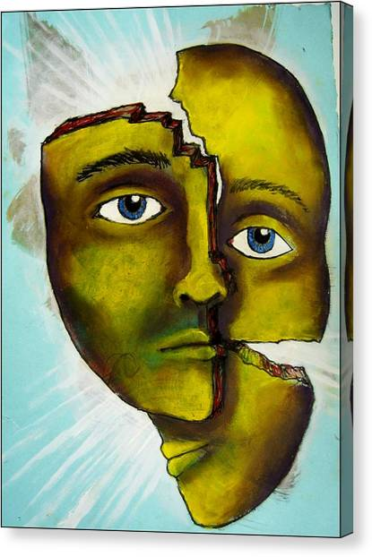 To Destroy The False Image Canvas Print by Paulo Zerbato