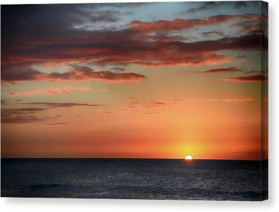 To End My Day With You Canvas Print