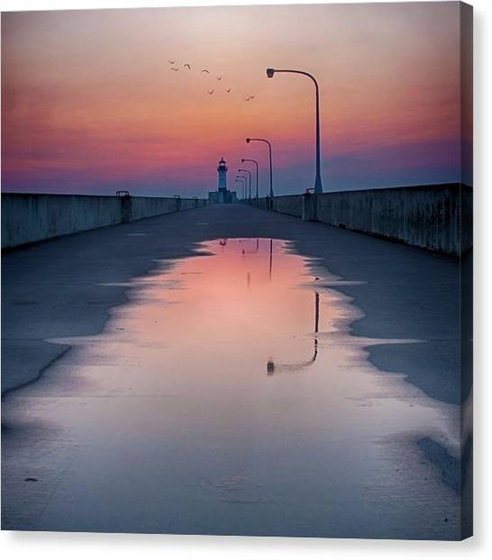 To Home Canvas Print