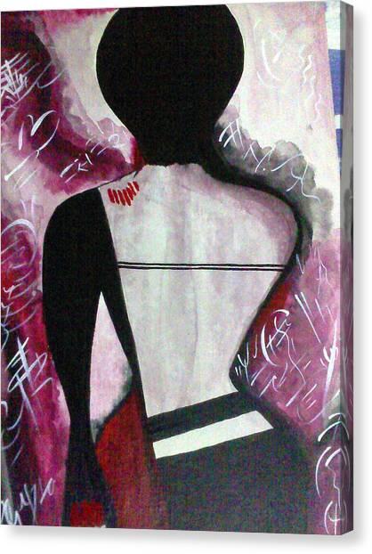 To Pain And Pleasure Canvas Print by Samarpita Dasgupta