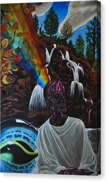 To Reveal And To Receive Canvas Print by Matthew Fredricey