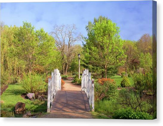Canvas Print featuring the photograph To The Other Side Of Spring by Angie Tirado