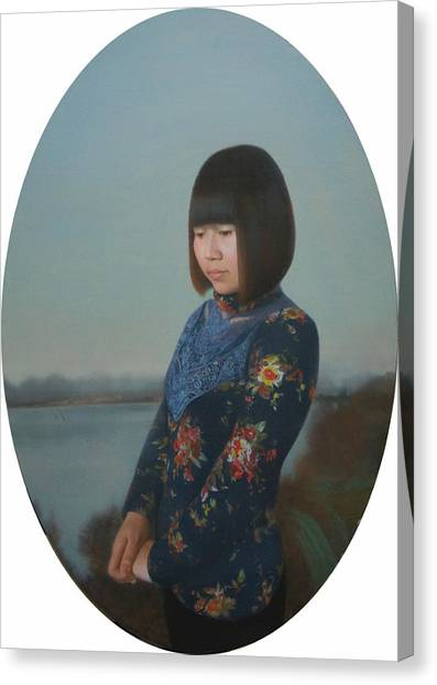Fantasy Realistic Still Life Canvas Print - To Xiu Pan by Weiyu Xia