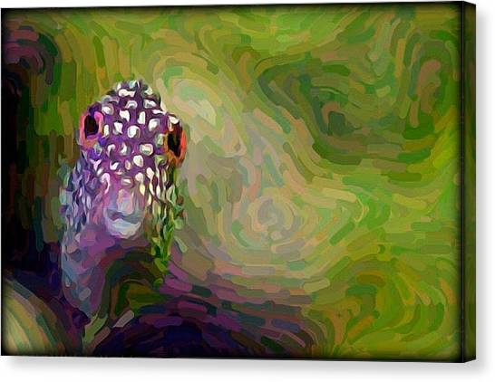Canvas Print - Toby Fish  by Raven Hannah