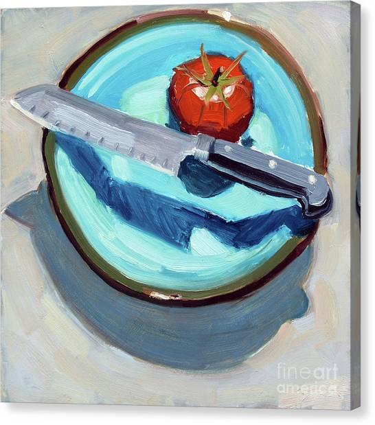Today's Tomato Canvas Print