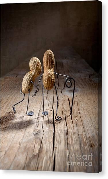 Figurine Canvas Print - Together 05 by Nailia Schwarz