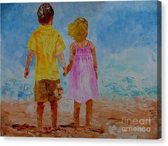 Together Canvas Print by Inna Montano