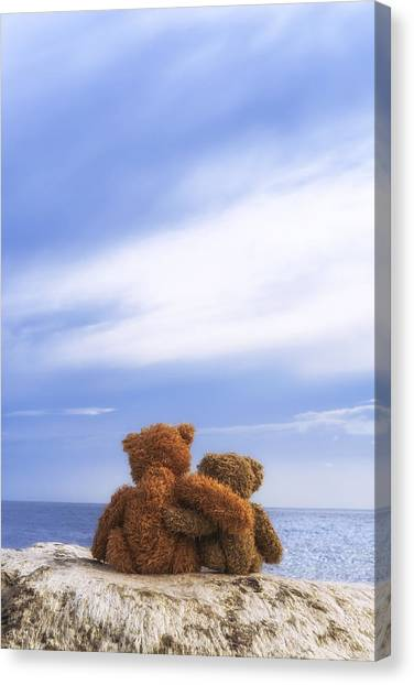 Care Bears Canvas Print - Together by Joana Kruse