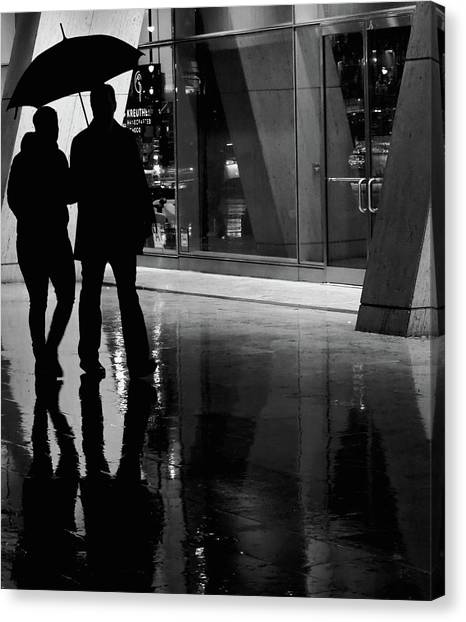 Canvas Print - Together We Were  by The Artist Project