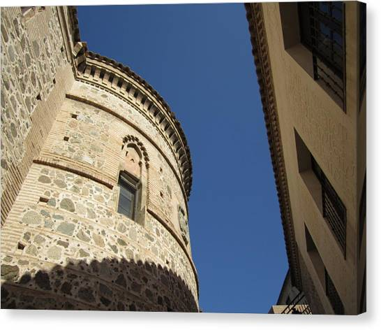 Toledo Castle II Canvas Print