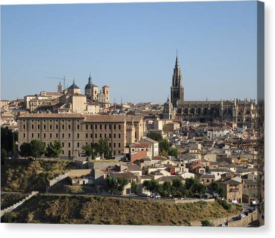 Toledo Cathedral Canvas Print