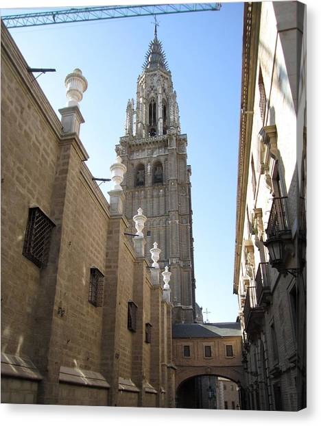 Toledo Church Canvas Print