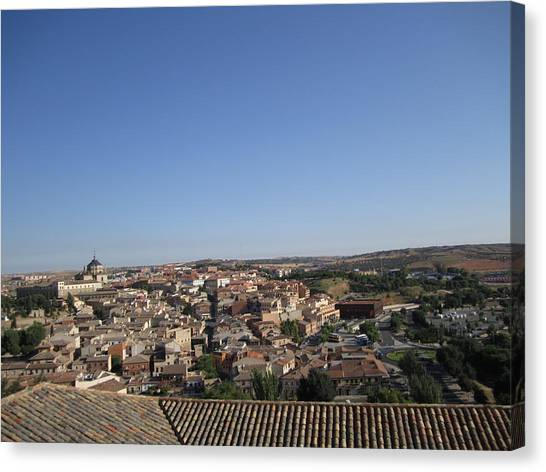 Toledo Homes Canvas Print