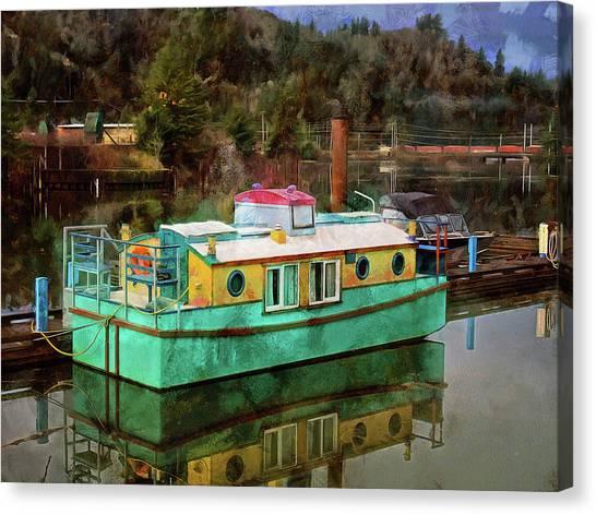 Toledo Showboat Canvas Print