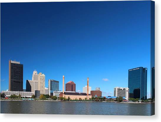 Toledo Skyline I Canvas Print