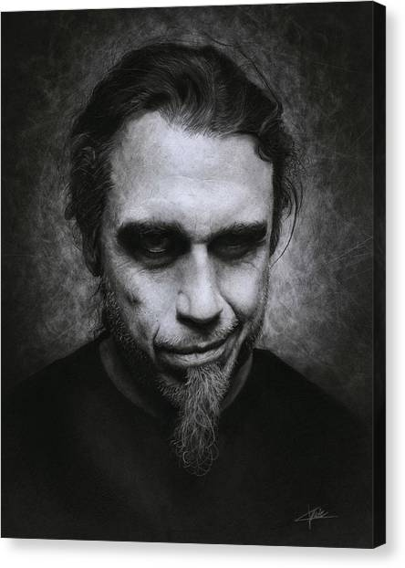 Tom Araya Canvas Print