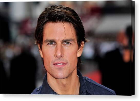 Tom Cruise Canvas Print - Tom Cruise by Maye Loeser