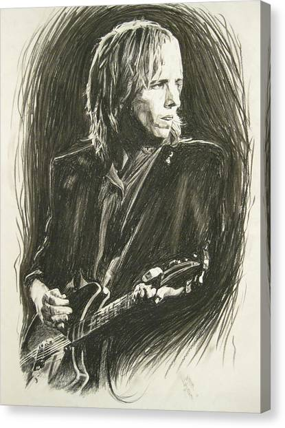 Tom Petty 1 Canvas Print