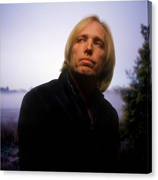 Tom Petty Canvas Print - Tom Petty by Jackie Russo