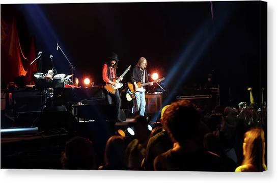 Tom Petty Canvas Print - Tom Petty by Laura Fasulo