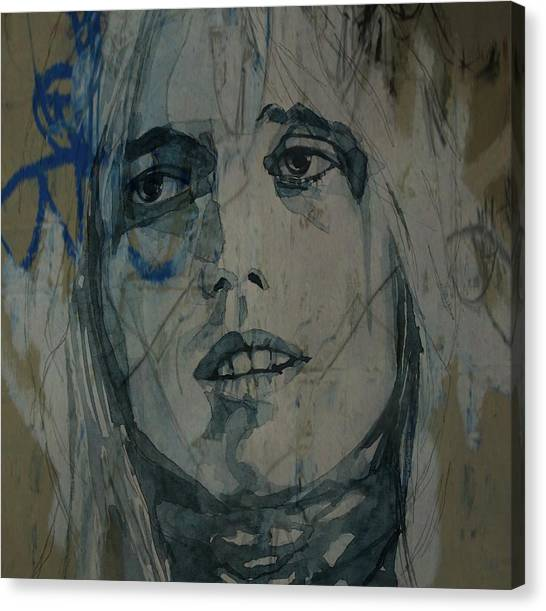 Tom Petty Canvas Print - Tom Petty  by Paul Lovering