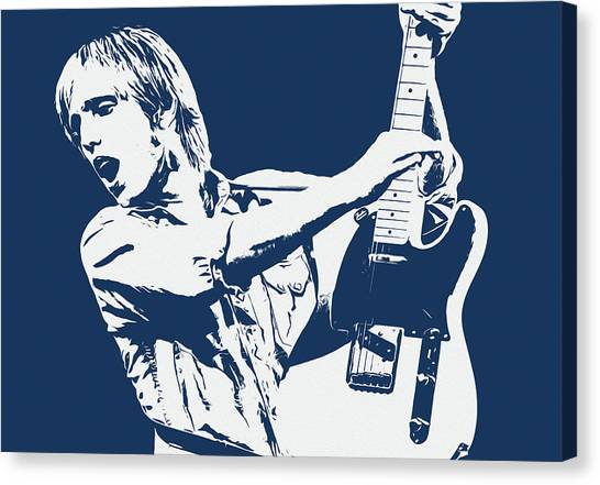 Tom Petty - Portrait 02 Canvas Print
