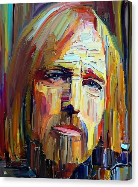 Tom Petty Tribute Portrait 4 Canvas Print
