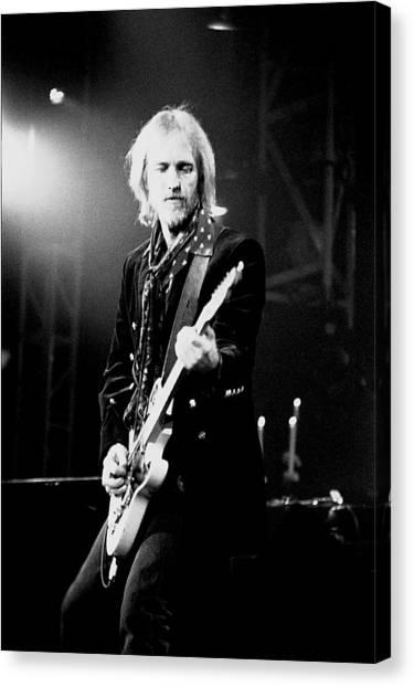 Tom Petty Canvas Print - Tom Petty by Wayne Doyle